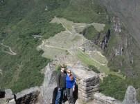 Near the top of Waynapicchu trail
