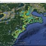 三重県「土砂災害警戒区域」をグーグルアースで「3D見える化」
