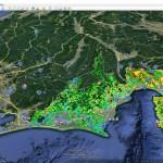 静岡県「土砂災害警戒区域」をグーグルアースで「3D見える化」