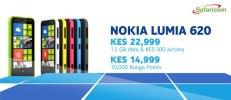 Safaricom's offer for the Nokia Lumia 620.