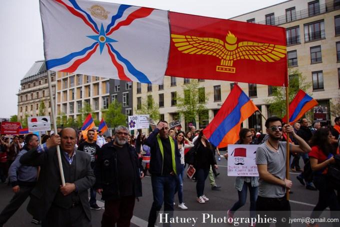Photographies à Berlin, Allemagne, avril 2015, Les 100 ans du génocide des Arméniens