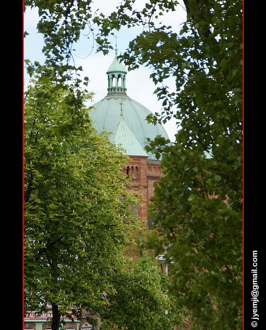 Photographies d'Alsace (Strasbourg Eglise Saint Pierre le Jeune)