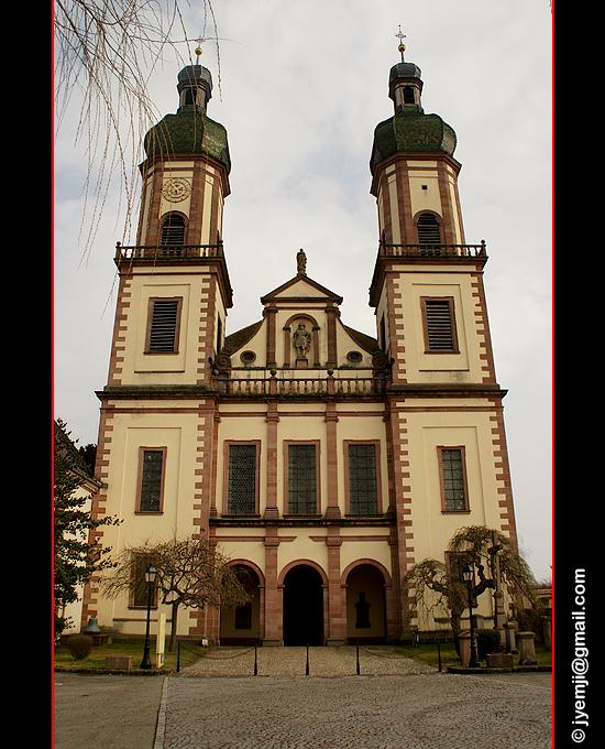 Photographies d'Alsace (Abbatiale d'Ebersmunster) par © Hatuey Photographies