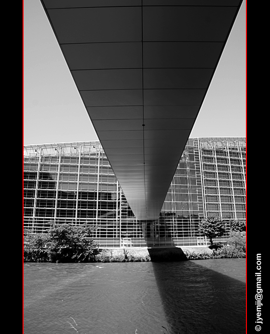 Photographies d'Alsace (Strasbourg Parlement Europeen)