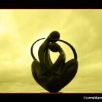 « Europe à cœur » une sculpture de Ludmila Tcherina