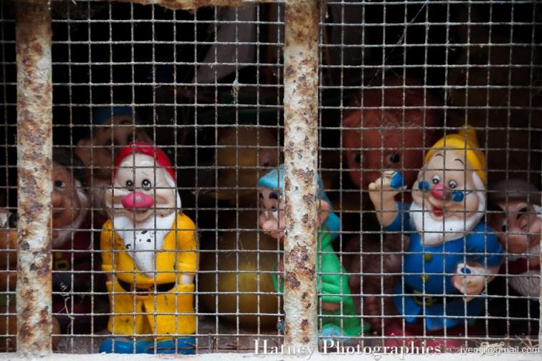 Barbus en prison à Venise 2016 Ⓒ Hatuey Photographies