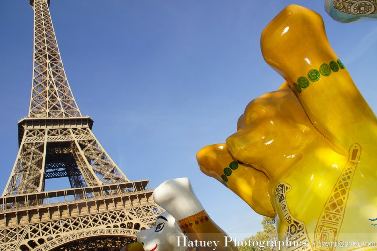 Photographies de United Buddy Bears à Paris 2012 © Hatuey Photographies