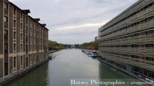 Paris, Photographies de Paris, Canal de l'Ourq par © Hatuey Photographies © jyemji@gmail.com