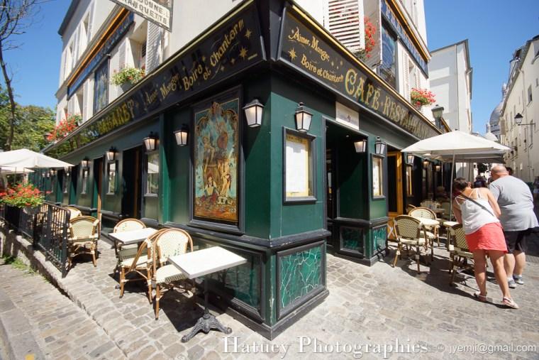 """Paris, Photographies de MMontmarte - Restaurant """"A la Bonne Franquette"""" par © Hatuey Photographies © jyemji@gmail.com"""