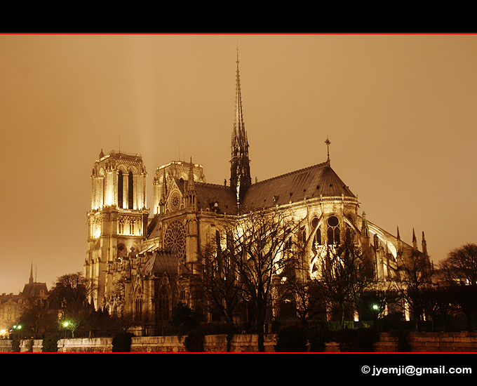 Photographies de Paris, Notre Dame de Paris par © Hatuey Photographies