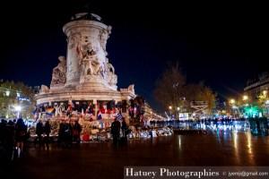 Paris, Memorial Place de La Republique photographies par ©Hatuey Photographies