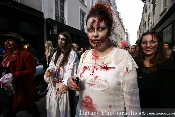 Zombie Walk, Paris 2013. Photographies à Paris par © Hatuey Photographies