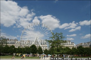 Paris, fete foraine aux tuileries