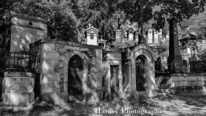 Vues,Paris, Cimetiere du Pere Lachaise Rond Point Casimir Perier ©Hatuey Photographies