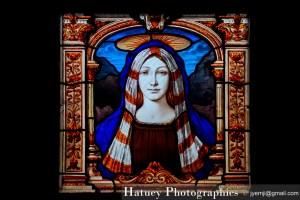 "Paris, Cimetiere du Pere Lachaise Vitraux, Stained Glass ""©Hatuey Photographies"" Cemetery Graveyard Cementerio Cimitero Friedhof"