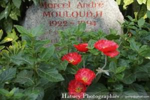 """Paris, Cimetiere du Pere Lachaise, Mouloudji """"©Hatuey Photographies"""""""