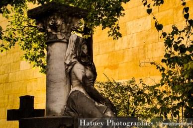 """Automne, Paris, Cimetiere du Pere Lachaise , Photographies de la tombe de GUERINOT Antoine Gaétan """"©Hatuey Photographies"""""""