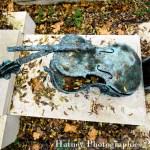 """Paris, Cimetiere du Pere Lachaise , Photographies de Paris, Cemetery Graveyard Cementerio Cimitero Friedhof , Cimetiere du Pere Lachaise , Photographies de la tombe de ARMAN , Armand Pierre Fernandez , dit (1928-2005) par """"©Hatuey Photographies"""