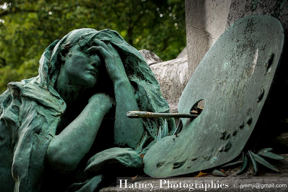 """Paris, Cimetiere du Pere Lachaise - Paul BAUDRY, Peintre - """"©Hatuey Photographies"""""""