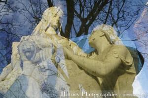"""Paris, Cimetiere du Pere Lachaise , Photographies de Paris, Cemetery Graveyard Cementerio Cimitero Friedhof , Cimetiere du Pere Lachaise , Photographies de la Tombe de DOLGOROUKY Zénaïde Vicomtesse de CHATILOFF par """"©Hatuey Photographies"""""""