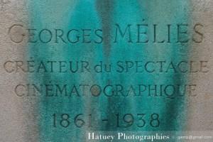 """Paris, Cimetiere du Pere Lachaise , Photographies de Paris, Cemetery Graveyard Cementerio Cimitero Friedhof , Cimetiere du Pere Lachaise , Photographies de la Tombe de Georges MELIES par """"©Hatuey Photographies"""""""