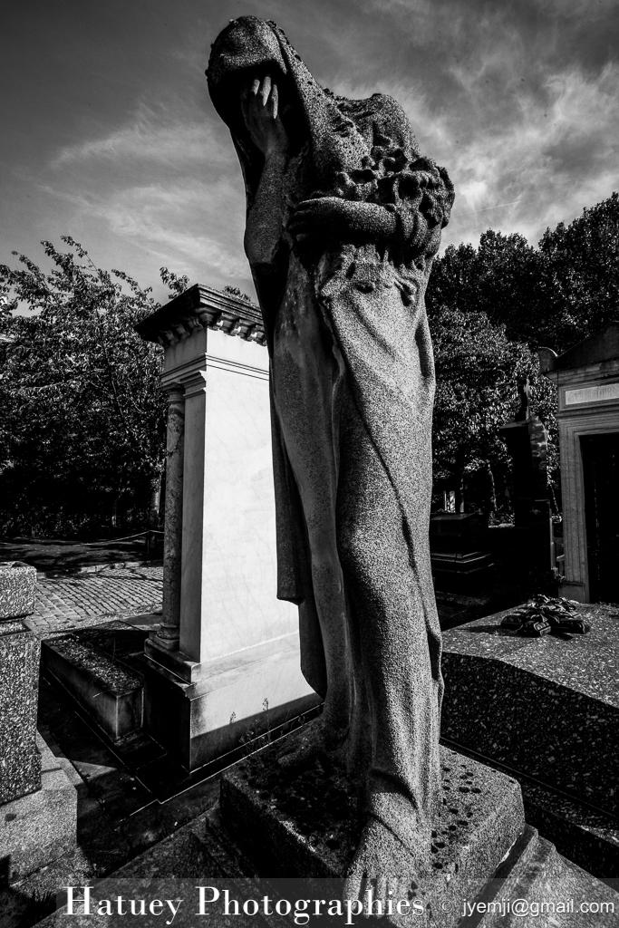 Art Funéraire, Cemetery, Cimetière, Cimetière du Père Lachaise, Division 93, France, Friedhof, PIVERT-DAVID Famille, Paris, Père Lachaise, Père-Lachaise, Sculpture, Statue, Statue de femme, cimitero, graveyard, ©Hatuey Photographies