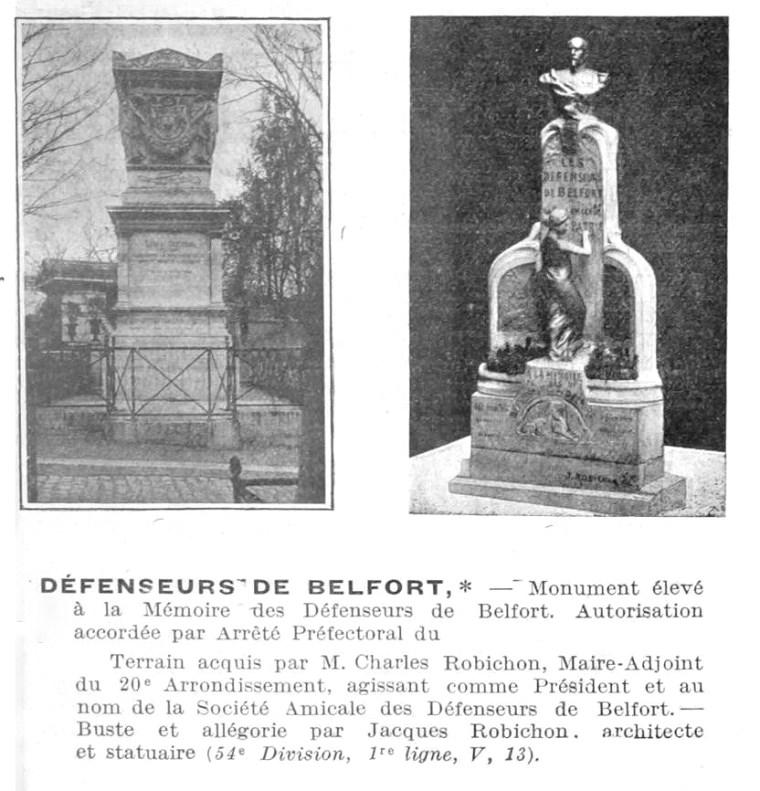 Defenseurs de Belfort