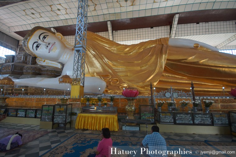 Myanmar Birmanie, Photographies 2015, Asie, Shwe Tha Lyaung le Bouddha couché - Reclining Buddha Bago by © Hatuey Photographies