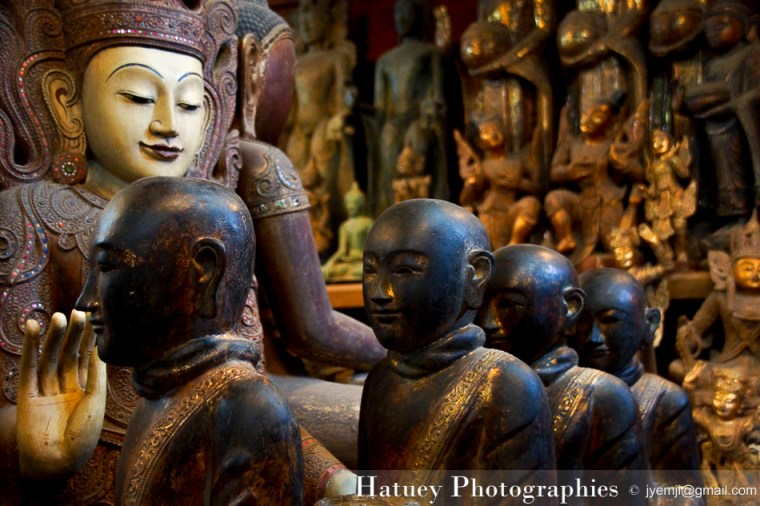Myanmar Birmanie, Photographies 2015, Asie, Sculpture, Mandalay by © Hatuey Photographies