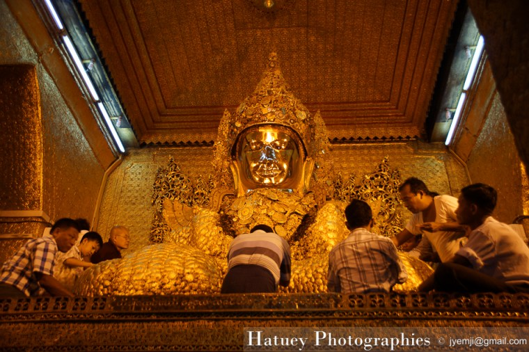 Myanmar Birmanie, Photographies 2015, Asie, Sculpture, Mahamuni Pagoda, Mandalay by © Hatuey Photographies by © Hatuey Photographies