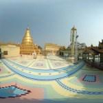 360°,VR,Photosphere,Asie, Hatuey Photographies, Myanmar,Sagaing, Photographies, SoneOoPoneNyaShin Pagoda by © Hatuey Photographies