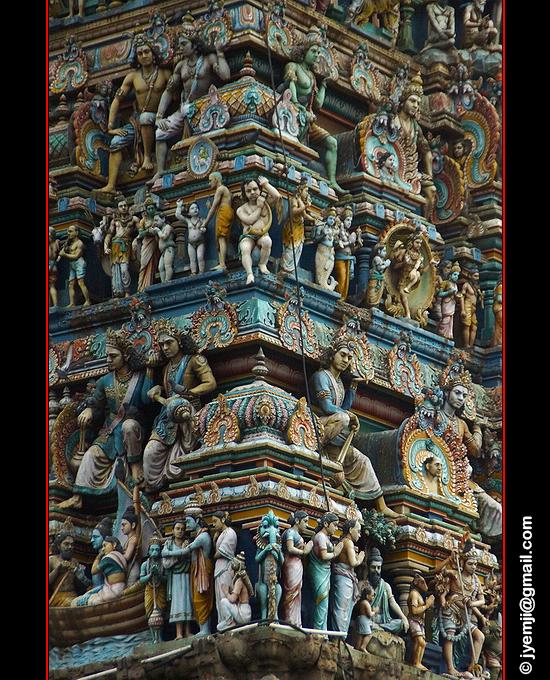 Chennai Kapaleeshwarar Temple Tamil Nadu , Tourism in South India. Photographs of South India, Photographies en Inde du Sud par © Hatuey Photographies