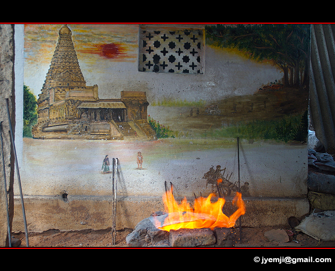 Fondeurs de bronze à Ramani Nagar (Thanjavur). Southern India,Tourism in South India. Pictures of Southern India,Photographs of South India. Photographies en Inde du Sud by © Hatuey Photographies