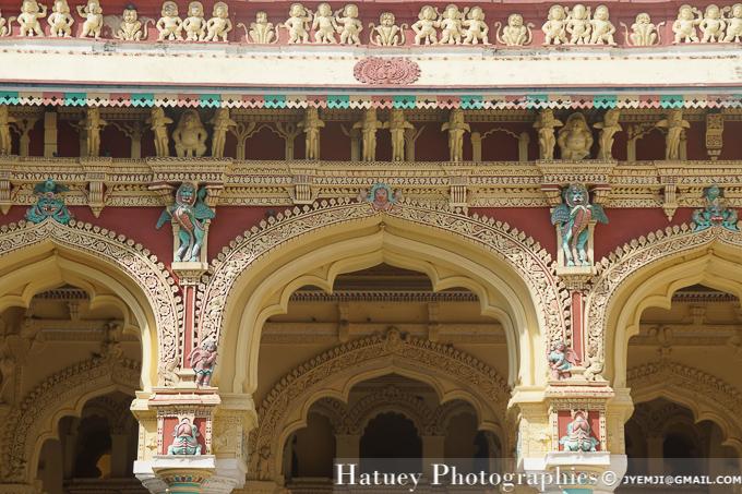 Madurai, Thirumalai Nayak Palace (TN). Tourism in South India. Photographs of South India, Photographies en Inde du Sud par © Hatuey Photographies
