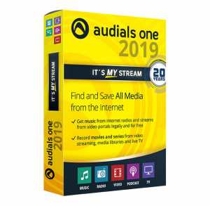 Download Audials One 2019 License Key Free