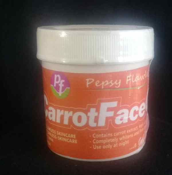 Carrot Face Cream