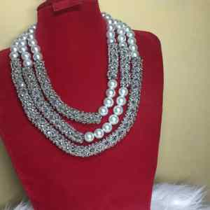 3 Layer Netted Jewelry Set