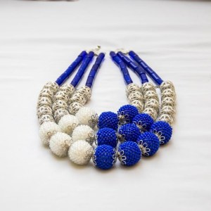 Exquisite Beaded Necklace