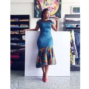 Eseohe Dress- Ankara Mix