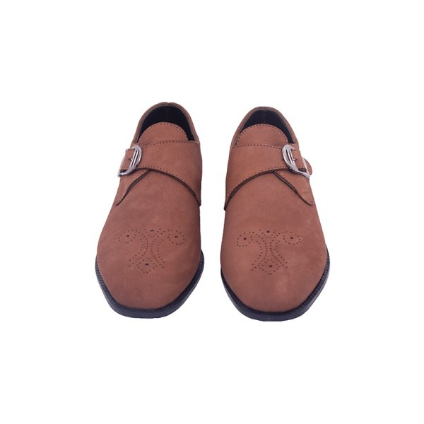 Men's Leather Shoe - Brown