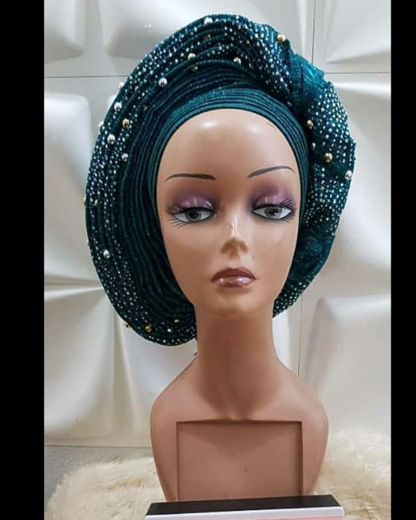 Twisted AutoGele – Ready To Wear Gele