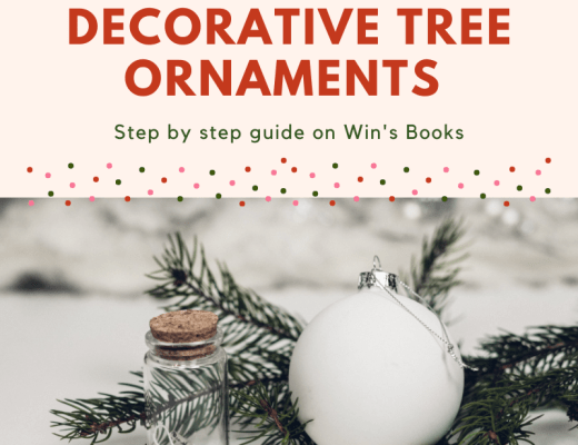 built by us: decorative tree ornaments