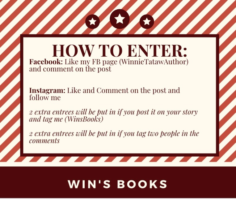 how to enter book giveaway