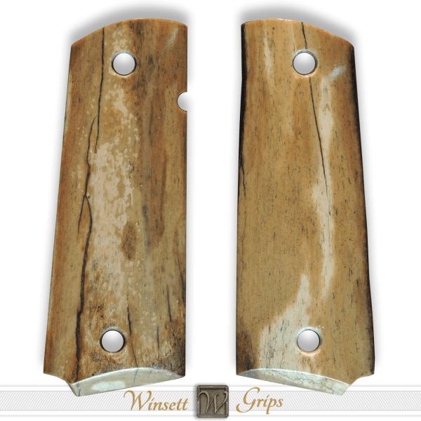 Ancient Bison Bone 1911 Grips