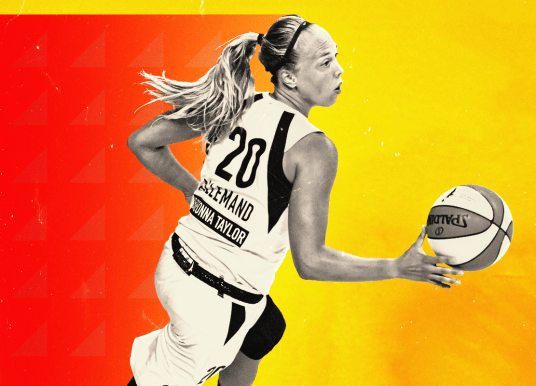 Julie Allemand has the Indiana Fever Humming