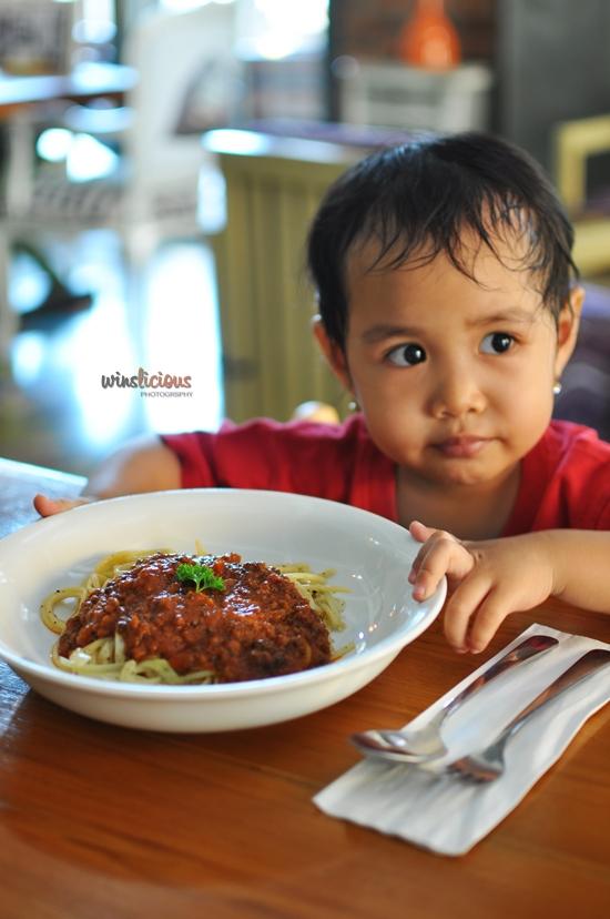 Kids Menu Spagheti