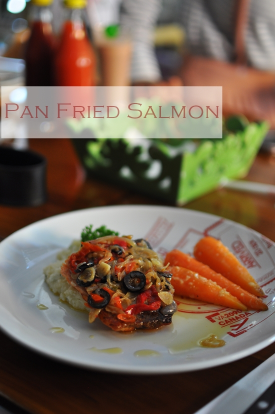 Masakini Pan Fried Salmon