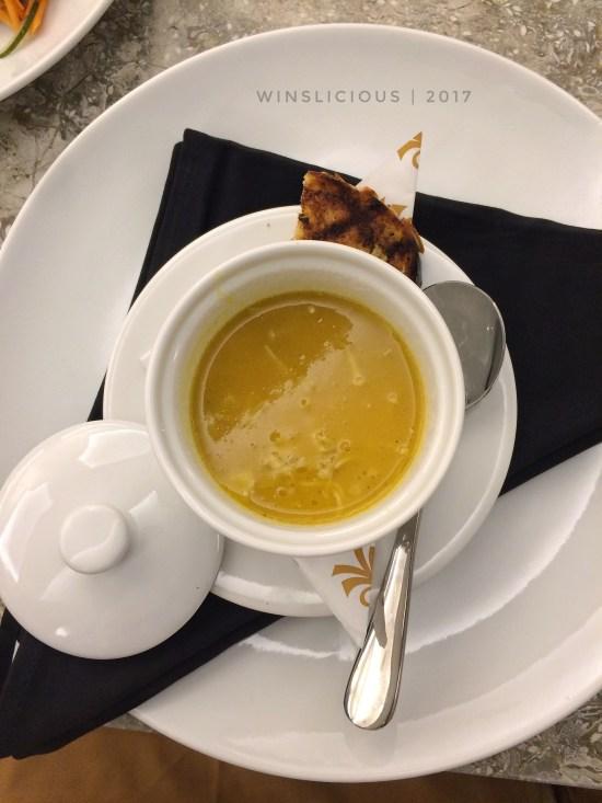 Pumpkin Soup Hotel Myko