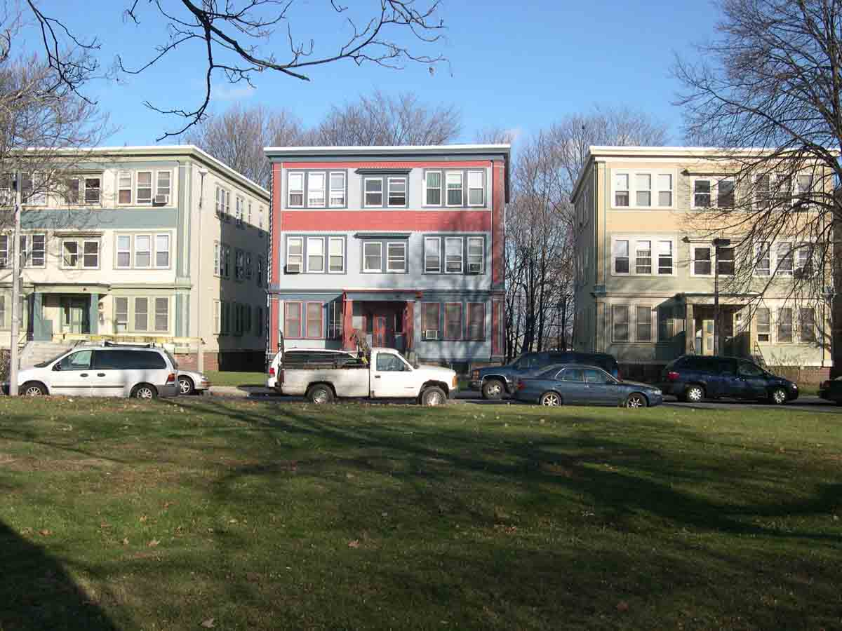 Winslow Architects MultiFamily Franklin Park Boston MA