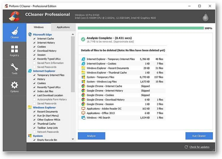 CCleaner Professional 5.41.6446 serial key crack full version free download  from here.